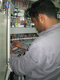 Commissioning of Control Panels