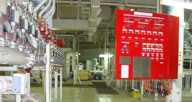 High Expansion Foam Extinguishing System - Installed