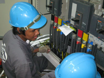 Generator Control Panel Termination and Commissioning